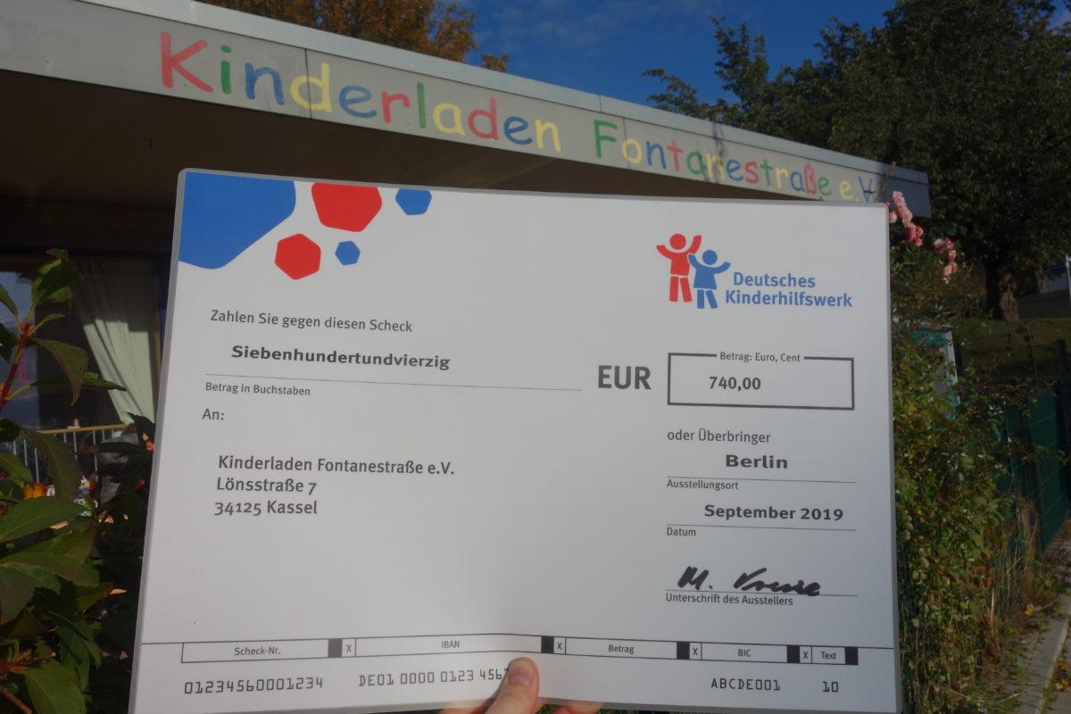 """Förderung für Projekt """"Kinder an die Macht"""""""